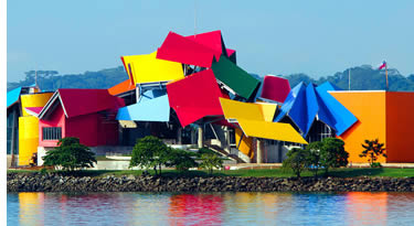Frank Gehry's Biodiversity Museum in Panama City