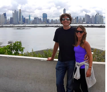 Tourists from all over the world visit Panama City